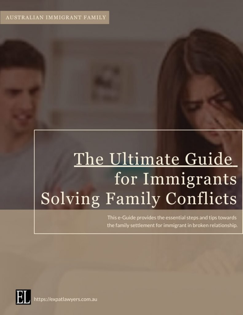 e-Guide for Immigrant solving Family Conflicts