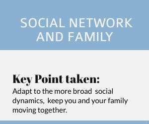 Australian immigrants: Adapt to the more broad social dynamics, keep you and your family moving together.