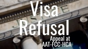 Visa and citizenship appeal at AAT-FCC-HCA