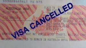 Visa/citizenship cancellations